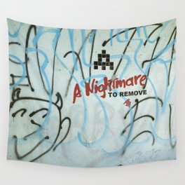 Nightmare to Remove Wall Tapestry