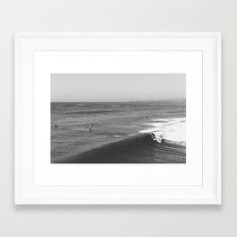San Clemente | Surf Framed Art Print