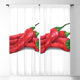 Chile de árbol (Tree Chili) Blackout Curtain