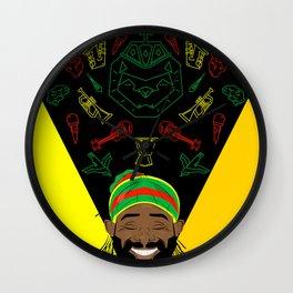 Reggae Guy Wall Clock
