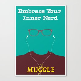 Embrace your Inner Nerd Canvas Print