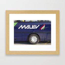 Malev Airlines Framed Art Print