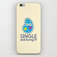 biology iPhone & iPod Skins featuring It's All About Paramecium by David Olenick