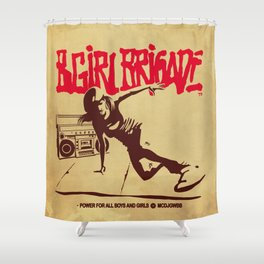 BGIRL BRIGADE Shower Curtain
