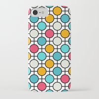 polka dots iPhone & iPod Cases featuring Polka Dots by Dizzy Moments