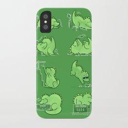Gawwwzillawww iPhone Case