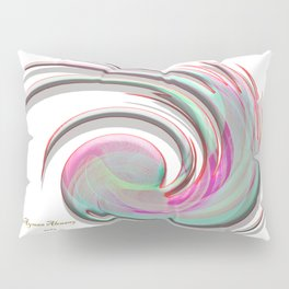 The whirl of life, W1.4A Pillow Sham