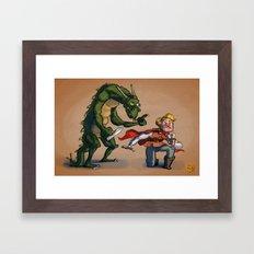 Quest for Glory Framed Art Print
