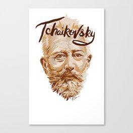 Tchaikovsky Canvas Print