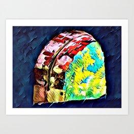 Ferns in the Window Art Print