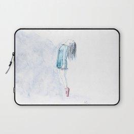 Ballerina On Pointe Laptop Sleeve