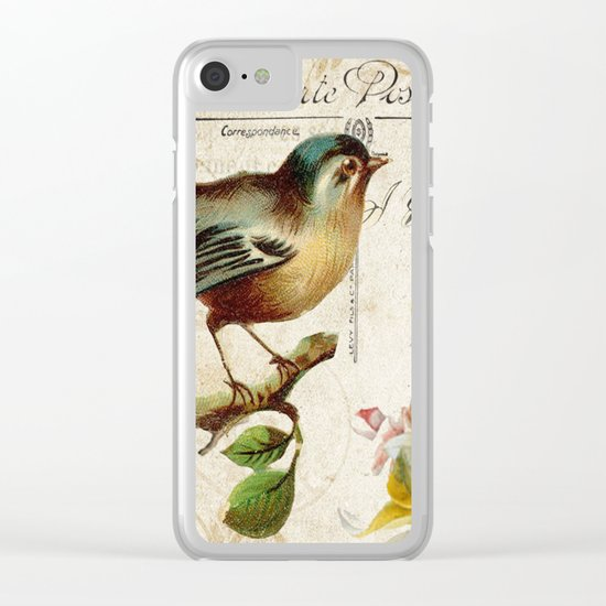 Sweet bird #2 Clear iPhone Case