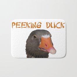 Peeking Duck Homonym Bath Mat