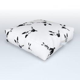 Bull Terrier Dog Outdoor Floor Cushion