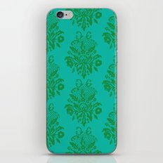 kelly green lace iPhone & iPod Skin