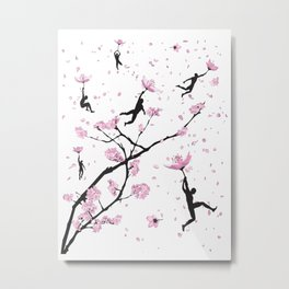 Blossom Flight Metal Print