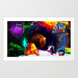ALL HAIL BACCHUS Art Print