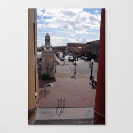 Downtown Lodi Canvas Print