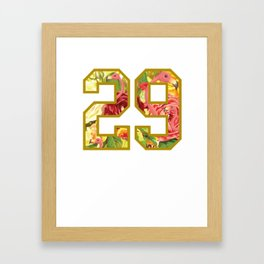 Fleury Goalie 29! Framed Art Print