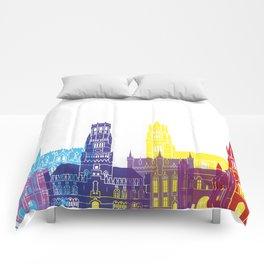 Bruges skyline pop Comforters