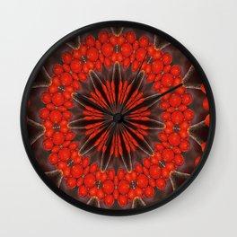 Kaleidoskop Beeren Wall Clock