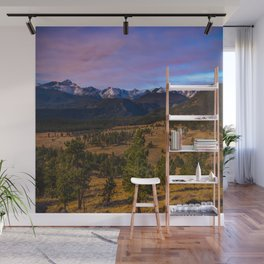 Rocky Mountain High - Moonlight Drenches Colorado Landscape Wall Mural