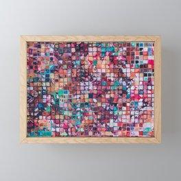 Grid I Framed Mini Art Print