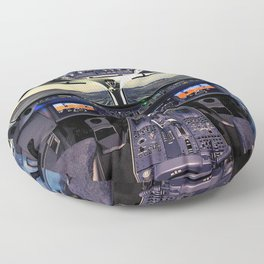 Cockpit Airplane Pilot Floor Pillow