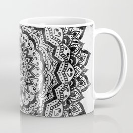 BLACK JEWEL MANDALA Coffee Mug