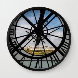 Clock at the Musee d'Orsay Wall Clock