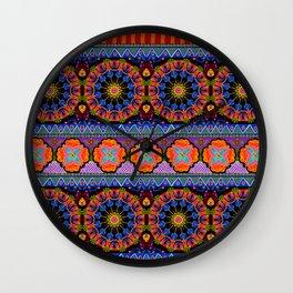 Pysanky Batik Wall Clock
