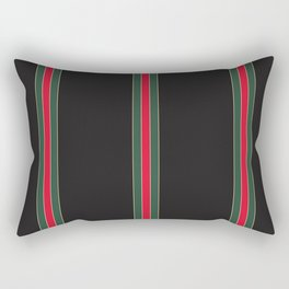 Designer Stripes Thin Rectangular Pillow