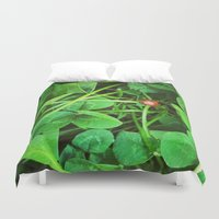 ladybug Duvet Covers featuring Ladybug by Carsick T-Rex