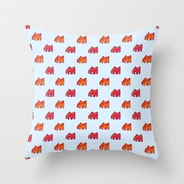 Elephant no.1 Throw Pillow