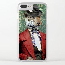 Jasper, Gentleman of the Press Clear iPhone Case