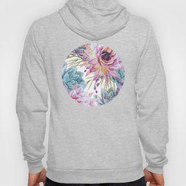 FLOWERS WATERCOLOR 19 Hoody