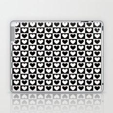 B&W Love Laptop & iPad Skin