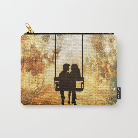 Love at the End of the Universe Carry-All Pouch