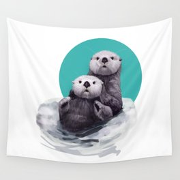 Hanging out Wall Tapestry