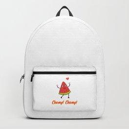 I Love Watermelon Design Backpack