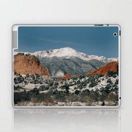 Snowy Mountain Tops Laptop & iPad Skin