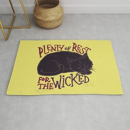 Rest for the Wicked Rug