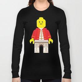 Arc De Triomphe Lego Long Sleeve T-shirt