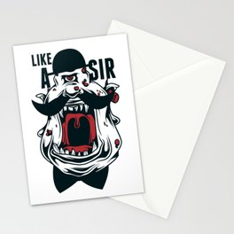 Like A Sir One Eyed Monster Stationery Cards
