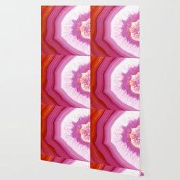Snow Cone Agate Slice Wallpaper