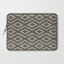 Stitch Diamond Tribal in Khaki Laptop Sleeve