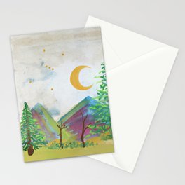 Orion Over the Mountains Stationery Cards