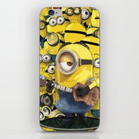 minions iPhone & iPod Skins featuring MINIONS by DisPrints