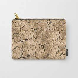 parched earth texture Carry-All Pouch