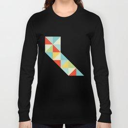 Geometric California Long Sleeve T-shirt
